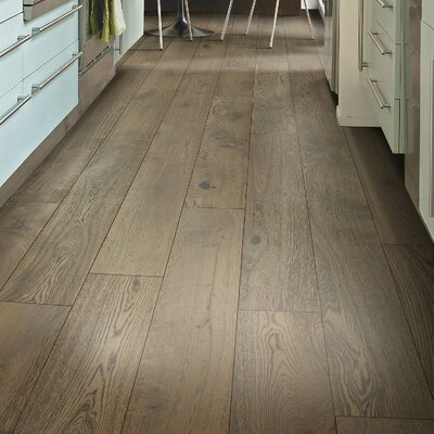 Scottsmoor Oak 7.5 Engineered White Oak Hardwood Flooring in Gray