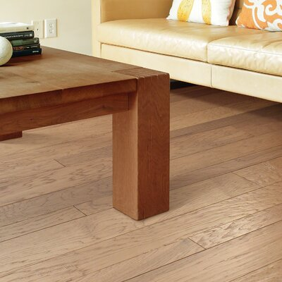 Augusta Random Width Engineered Hickory Hardwood Flooring in Bell