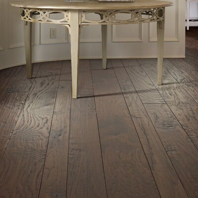 Augusta Random Width Engineered Hickory Hardwood Flooring in Goodmen