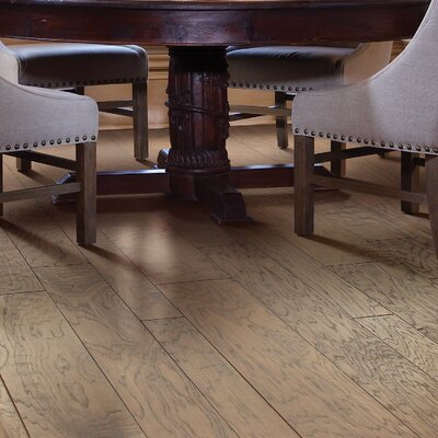 Augusta Random Width Engineered Hickory Hardwood Flooring in Flora