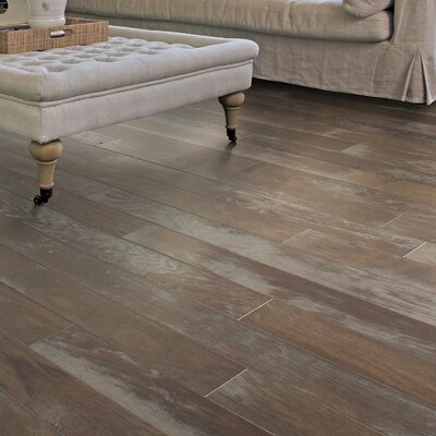 Chic Hickory 4.8 Engineered Hardwood Flooring in Uptown