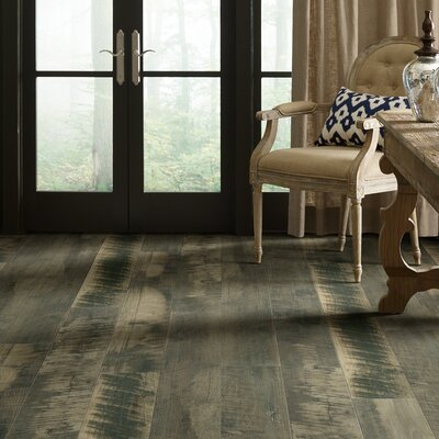 Milford Bay 5.43 x 47.72 Laminate Flooring in Junction Gray