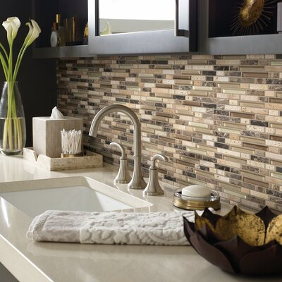 Stately Random Sized Natural Stone Mosaic Tile in Holly