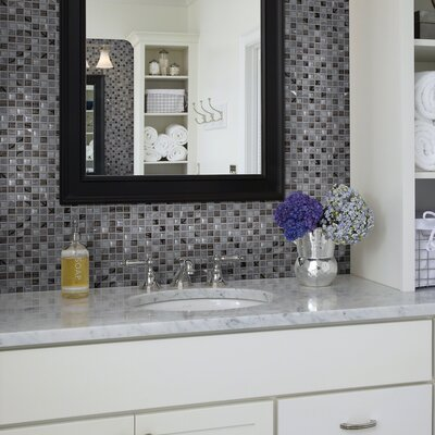 Stately 1 x 1 Natural Stone Mosaic Tile in Beatrix