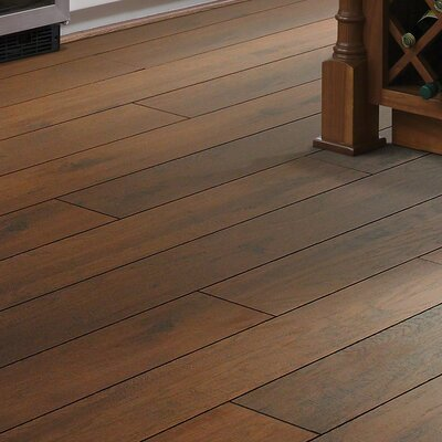 Riverdale 5 x 48 x 12mm Hickory Laminate Flooring in Hudson Hill