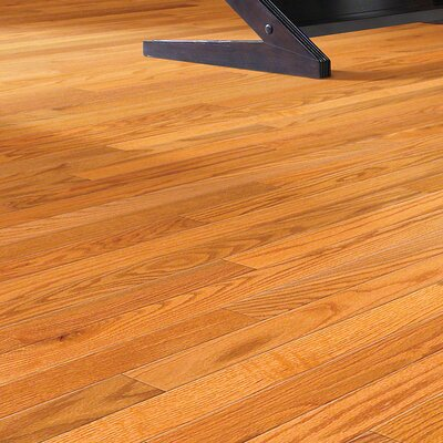 Sawgrass 2-1/4 Solid Red Oak Hardwood Flooring in Butter Rum