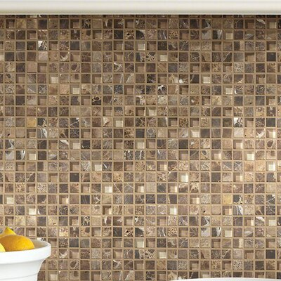 Stately 0.625 x 0.625 Marble Mosaic Tile in Alma