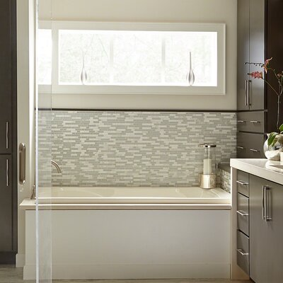 Stately 0.625 x 0.625 Natural Stone Mosaic Tile in Brylee