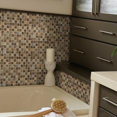 Stately 1 x 1 Slate Mosaic Tile in Slamford