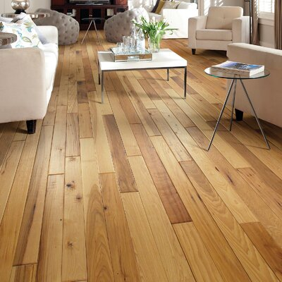 Zellwood 3-1/4 Solid Hickory Hardwood Flooring in Vale