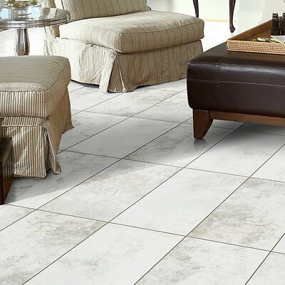 Olympus 20 12 x 24 x 2.29mm Luxury Vinyl Tile in Snowbound