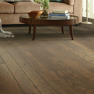 Victorian Hickory 4.8 Engineered Hickory Hardwood Flooring in Ginger