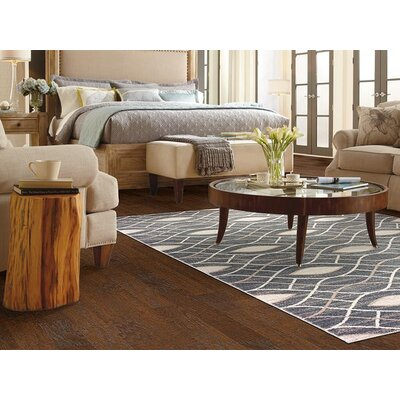 Galleria Serenity Gray/Beige Area Rug Rug Size: 53 x 73