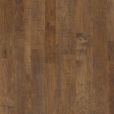 Greensboro Random Width Engineered Hickory Hardwood Flooring in Buckskin