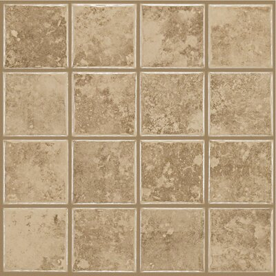 "Shaw Floors Colonnade 3"" x 3"" Ceramic Floor Tile in Coffee at Sears.com"