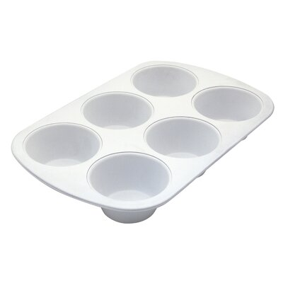 Range Kleen Cerama Bake 6 Cup Jumbo Muffin Pan BC6010
