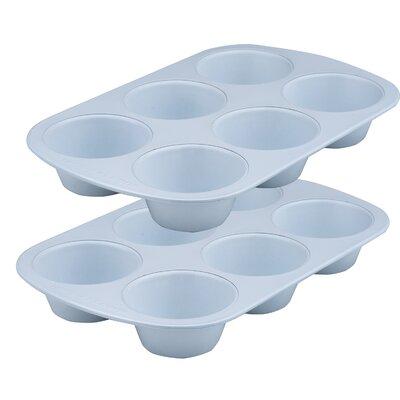 Range Kleen Cerama Bake 6 Cup Jumbo Muffin Pan 1815
