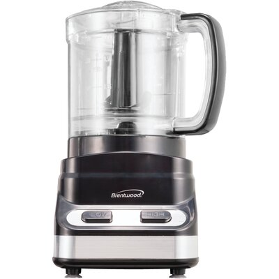 Brentwood 3 Cup Food Processor Color: Black FP-547