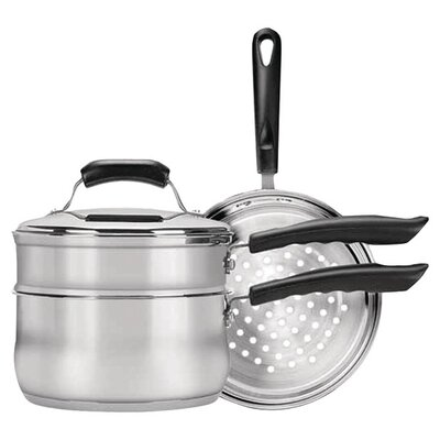 Stainless Steel 4-piece Cookware Set