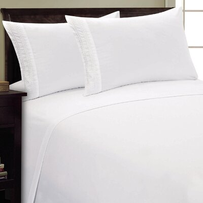 Chain Link Sheet Set Size: King, Color: White