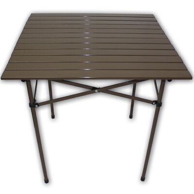 Lightweight Aluminum Picnic Table Finish: Brown