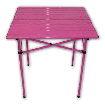 Lightweight Aluminum Picnic Table Finish: Fushcia