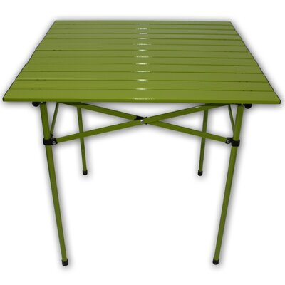 Lightweight Aluminum Picnic Table Finish: Green