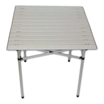 Lightweight Aluminum Picnic Table Finish: Silver
