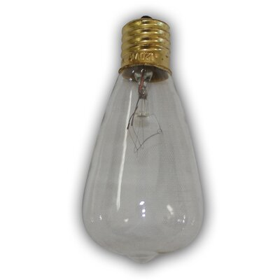 7W E26 Incandescent Vintage Filament Light Bulb