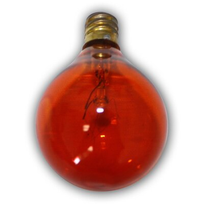 Incandescent Light Bulb Color: Amber