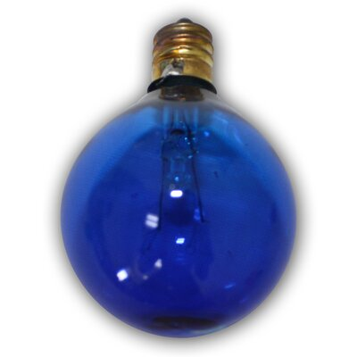 Incandescent Light Bulb Color: Blue