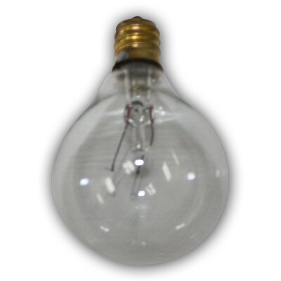 Incandescent Light Bulb Color: Clear