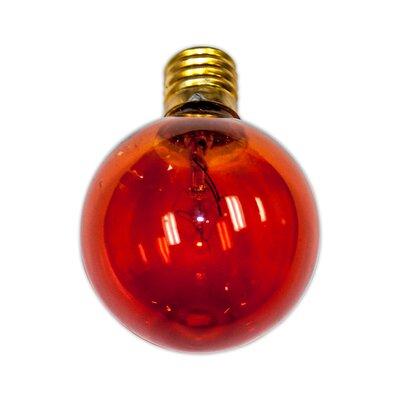 7W Red E12 Incandescent Vintage Filament Light Bulb