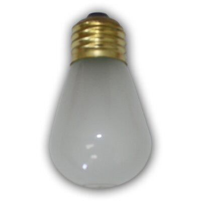 11W Frosted E26 Incandescent Vintage Filament Light Bulb