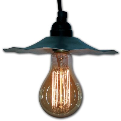 1-Light Mini Pendant Finish: Galvanized