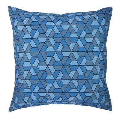 Triangles Modern Graphic Throw Pillow