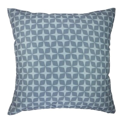 Star Printed Graphic Throw Pillow Color: Gray