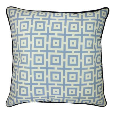 And in Summation Geometric Throw Pillow Color: Sandstone