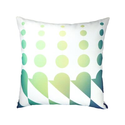 Linen Throw Pillow Color: Snowcone Aqua