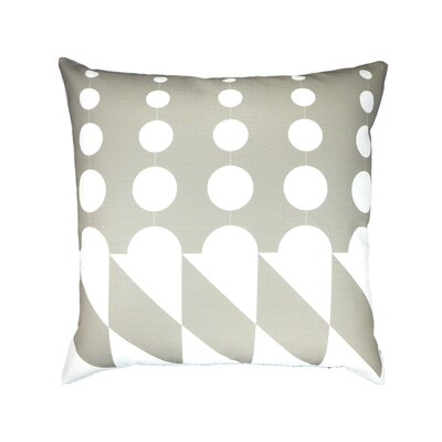 Linen Throw Pillow Color: Ice Cream Gray