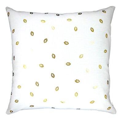 Lippity Split Linen Throw Pillow