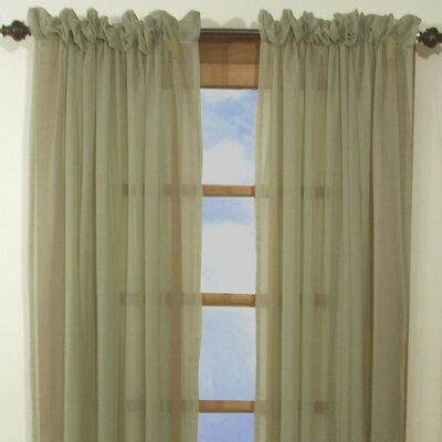 """Ricardo Trading Artisan Sheer Tailored Curtain Panel - Size: 63"""" H x 54"""" W, Color: Sage at Sears.com"""
