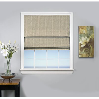 Johnson Village Blackout Roman Shade Size: 30 W x 63 L, Color: Natural