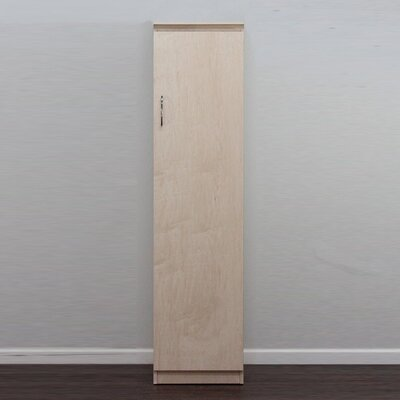 Flat Iron Armoire Finish: Natural Teak