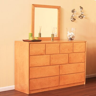 Art Deco 11 Drawer Dresser