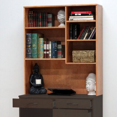 Flat Iron 48 H x 41 W Desk Hutch Finish: Espresso