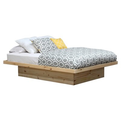 Platform Bed Finish: Unfinished, Size: Queen