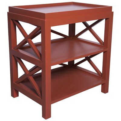 Sulivan Tray Table Color: Rave Red