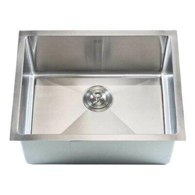 Ariel 23 x 18 Single Bowl Undermount Kitchen Sink