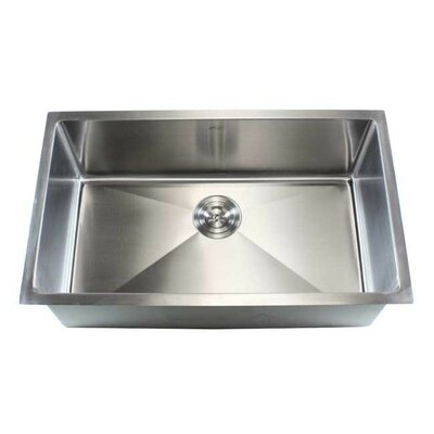 Ariel 32 x 19 Single Bowl Undermount Kitchen Sink
